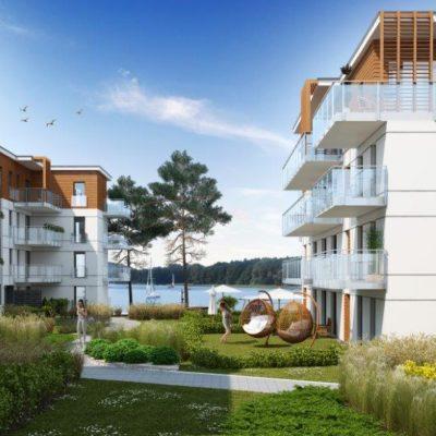 Apartament nad jeziorem z własną mariną Iława 2.19