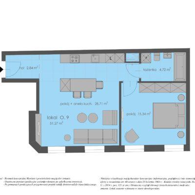 Apartament na Powiślu