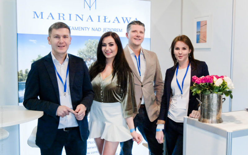 Magnat Select operated the Marina Iława show booth at the Wind and Water Trade Fair.