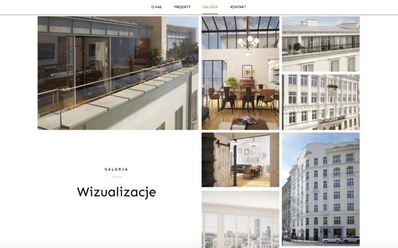 Nowa strona Warsaw Attics i Rezydencji Św. Barbary 4, zaprojektowana i wdrożona!