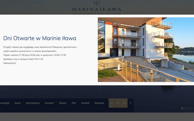 Zapraszamy na Dni Otwarte w Marinie Iławie.