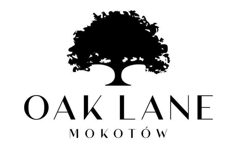 Doceniając piękno i wyjątkowość dębowej alei przy ul. Kieleckiej nazwaliśmy nasz projekt Oak Lane Mokotów. Logo proste nawiązujące do drzew i wyjątkowości projektu.